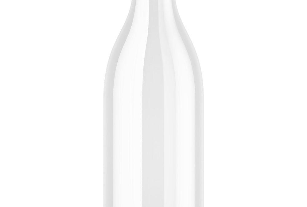 Retro Dairy Bottle 1000ml