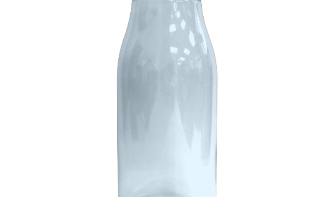 Retro Dairy Bottle 250ml